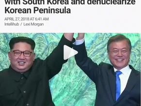 Kim Jong-un agrees to end feud with South Korea and denuclearize Korean Peninsula