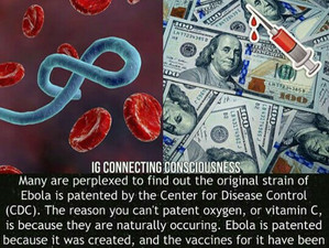 Patented Disease, Designed and Created for your family Creating Fear and medical Tyranny.