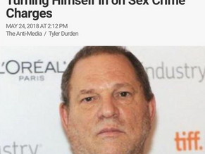 Breaking: Harvey Weinstein Turning Himself in on Sex Crimes Charges