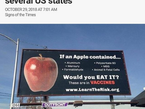 Anti-Vaccine Billboards Appear In Several US States