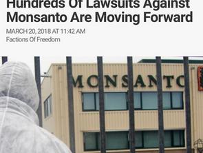 Hundreds Of Lawsuits Against Monsanto