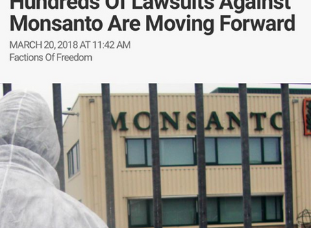 Hundreds Of Lawsuits Against Monsanto
