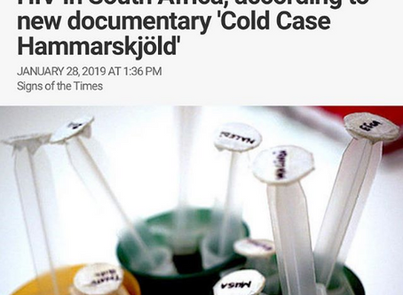 """""""CIA-backed' Mercenaries spread HIV in South Africa, according to new documentary """"Col"""