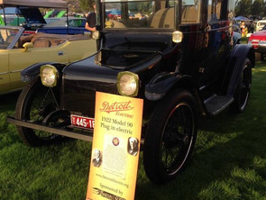 "Detroit ""1922 Model"" Plug In Electric Car"