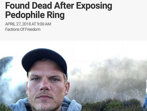 Illuminati sacrifice: Dj Avici Found Dead After Exposing Pedophile Ring