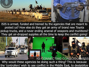 ISIS The C.I.A Run Proxy Army Created in Hollywood movie Studios