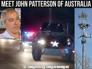 Australian Testra Worker Dirves His Armoured Personnel Carrier into Phone Towers.