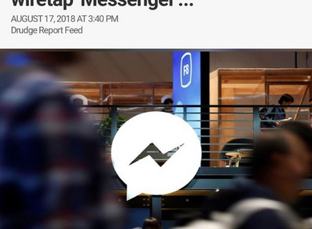 "U.S Govt Seeks FACEBOOK help to wiretap ""Messenger"""