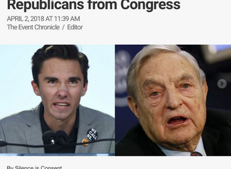 REVEALED: David Hogg working with George Soros Group to Oust Republicans from congress