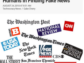Scientists: A.I. Algorithms Betters Humans In Finding Fake News