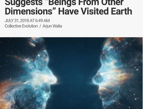 """Declassified FBI Document Suggests """"Beings From Other Dimensions"""" Have Visited Earth"""