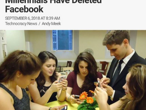 Bang: Study Shows Half Of Millennials Have Deleted Facebook