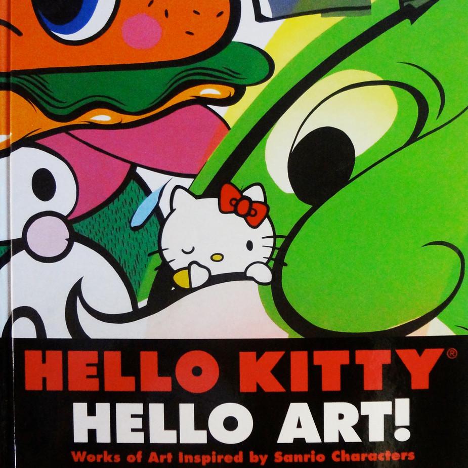 Hello Kitty Hello Art Book