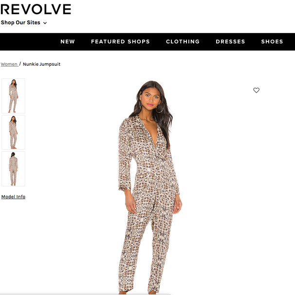 Cali Dreaming Nunkie Jumpsuit in Cheetah Print available on REVOLVE.COM
