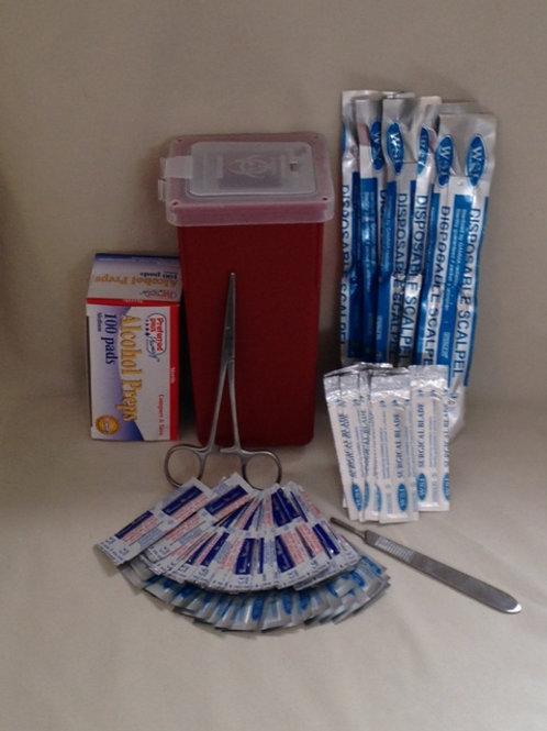 Deluxe Dermaplaning blade kit