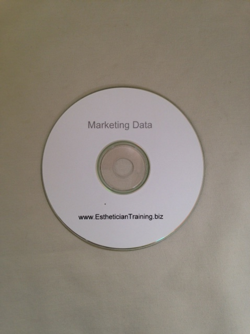 CD with customization marketing campaigns to promote material for dermaplaning