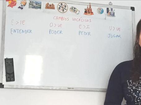 Los cambios vocálicos en español