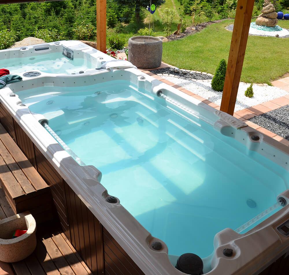Aquarius 6000 Swim Spa, Schwimmspa, Fripool