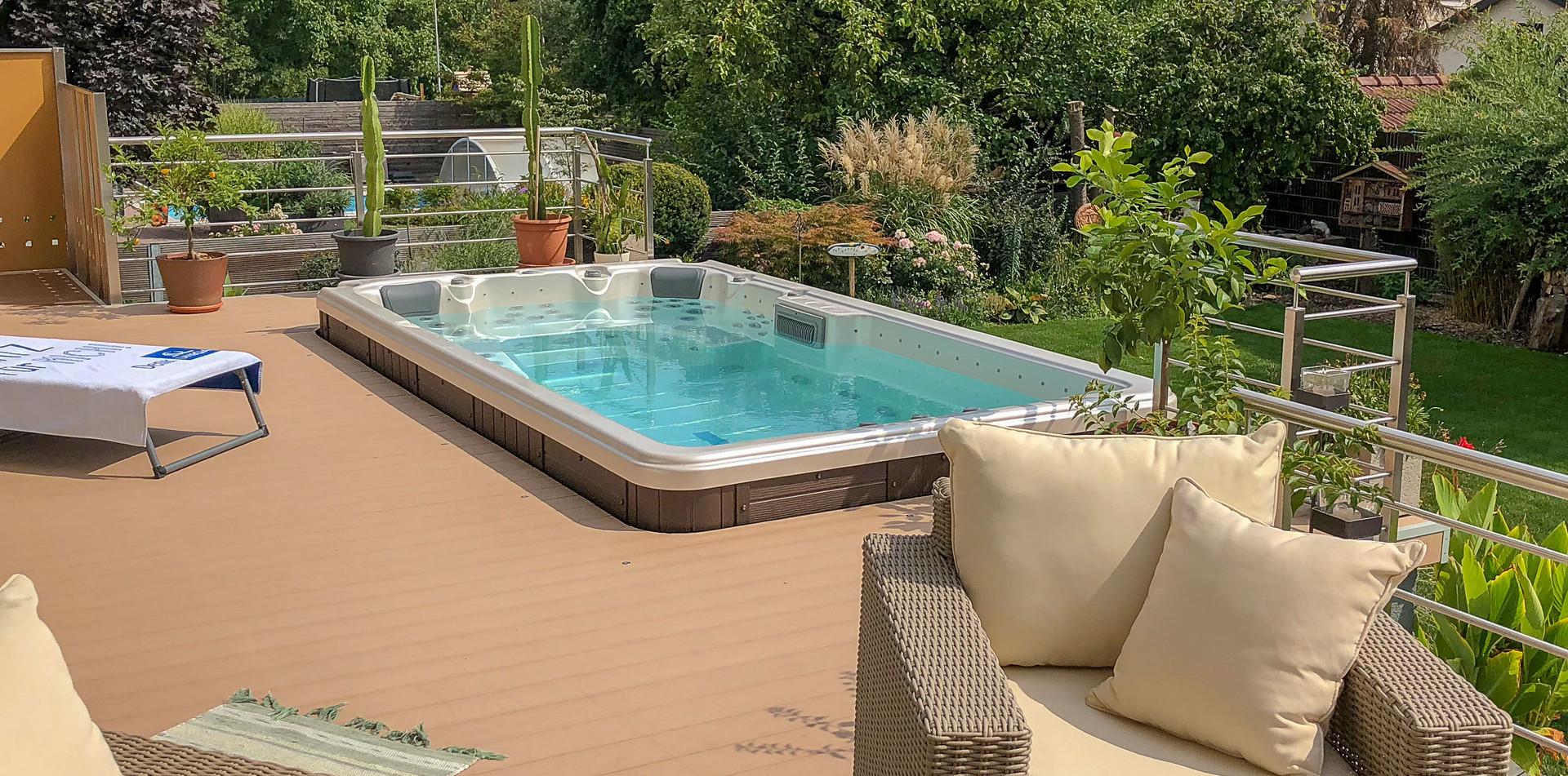 LOUNGE 4100 Schwimmspa, Swim Spa, Fripool