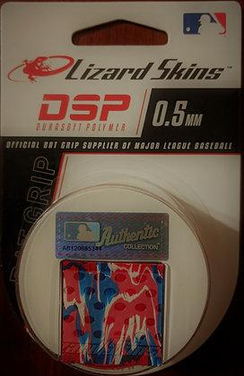 RED/WHITE/BLUE  lizard Skin 0.5 mm