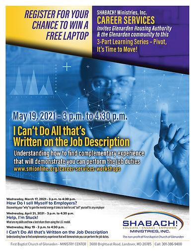 GHA Career Services Workshop 3. 5.19.21.