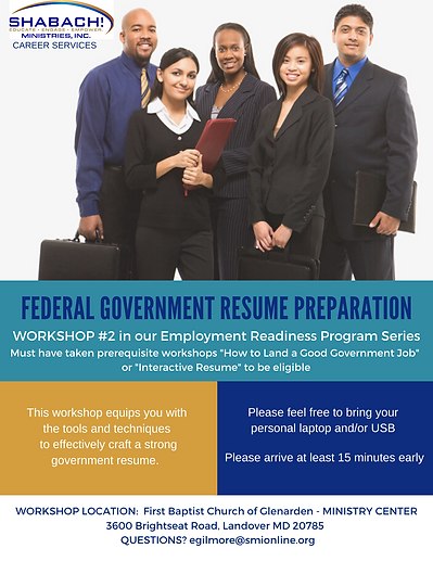 CAREER SERVICES. Federal Government Inte