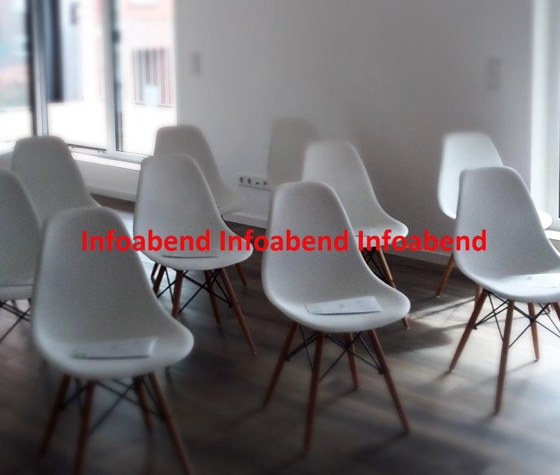 reservierte Plätze für den Infoabend