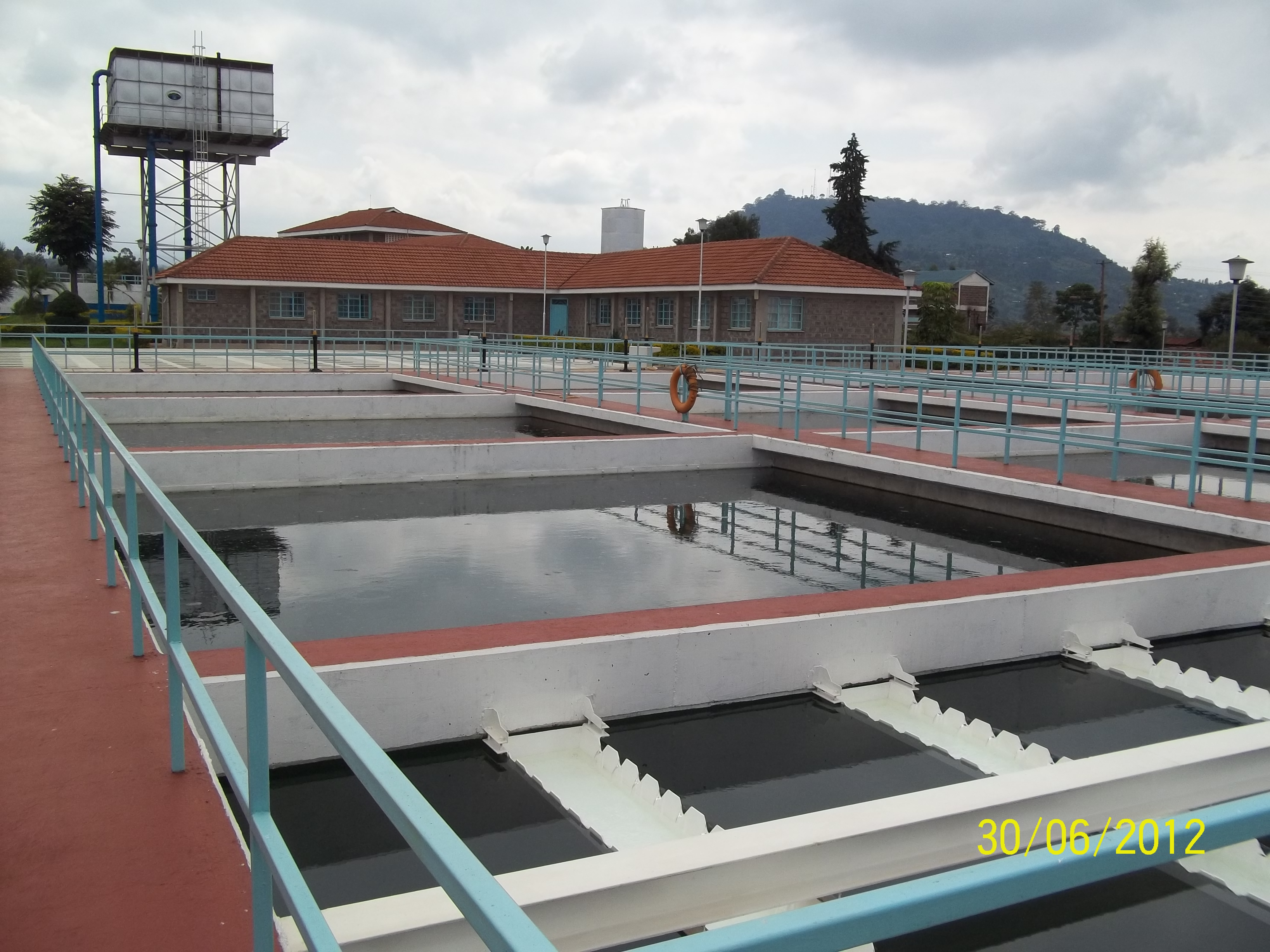 12. Section of Nyeri Water Treatment Wor