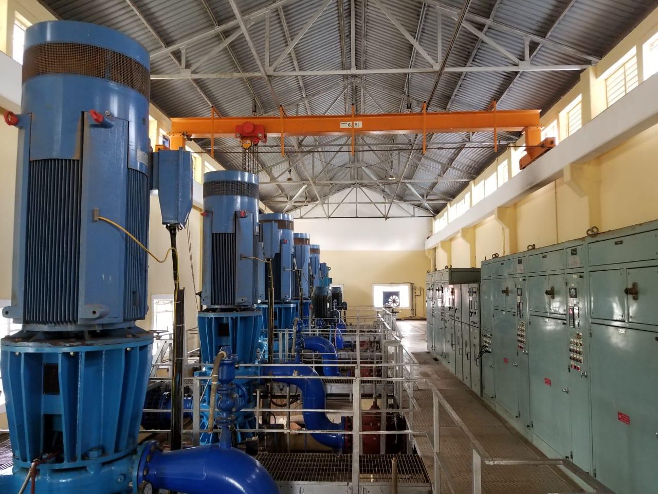 1. Electromechanical Installations at Ba