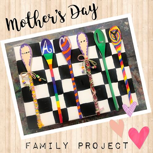 Mother's Day Family Art Kit