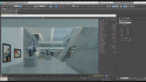 Making of Art Gallery Part ONE – Corona Renderer and V-Ray