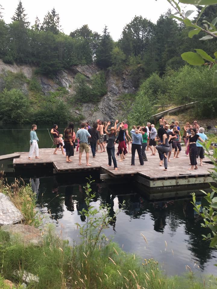 outdoor ecstatic dance