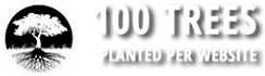 100 Trees Planted Per Website Designed
