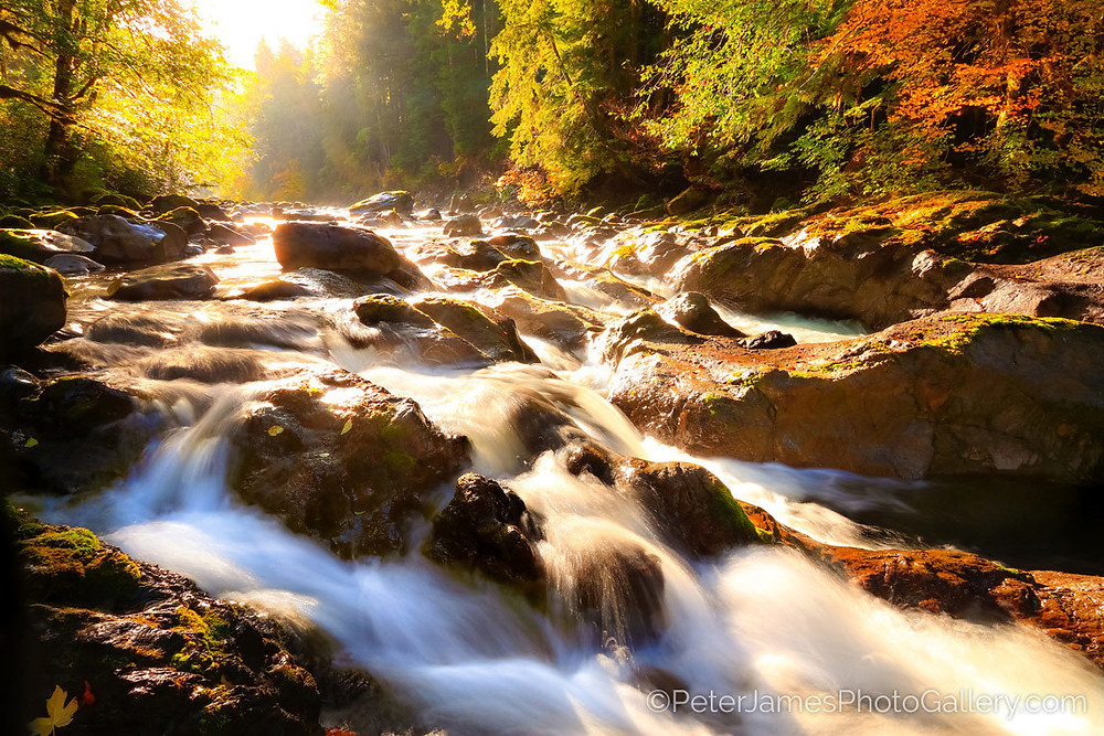 Peter James photos capture the dance of light on Nature's peak moments. Nature is Art.