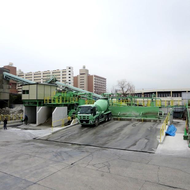 生コン排水処理設備 ②