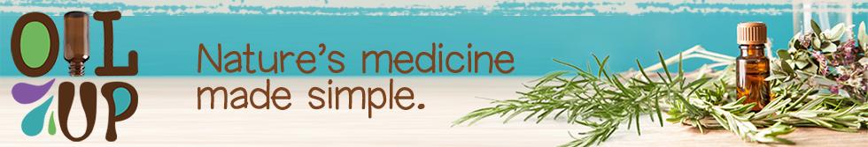 Oil Up essential oils shop logo