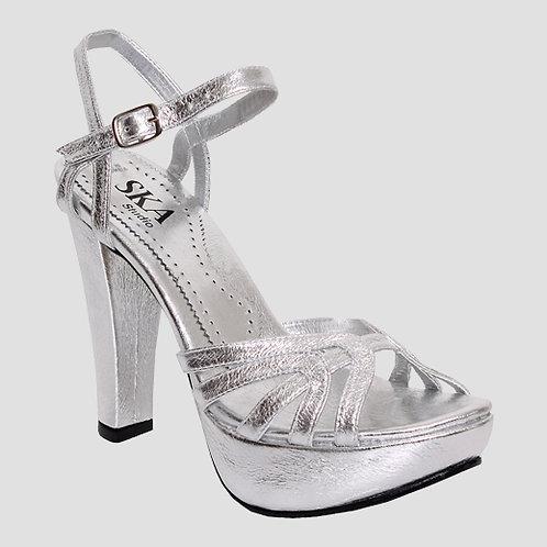 Ska Studio Shoes - Silver Sparkle