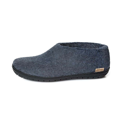 Denim Glerups with black rubber sole