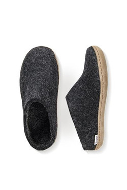 charcoal slip on