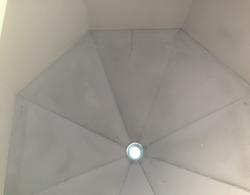 Painted Octagon Interior