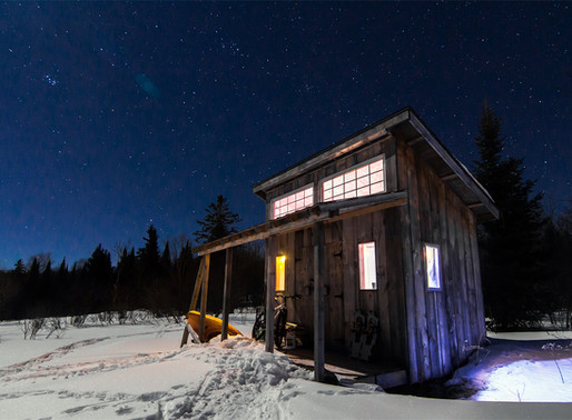 Cabin Design; living the dream and the rookie mistake that never goes away