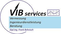 Firmenlogo VIB-Services. Vermessung Ingenieurdienstleistungen Beratung