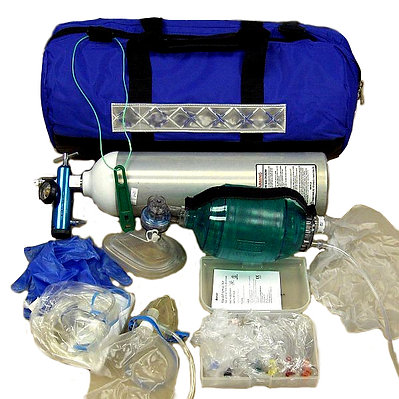 Emergency Medical Oxygen Response Kit