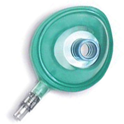 Small Infant Disposable Cuffed Masks (With Valve) Size #1.