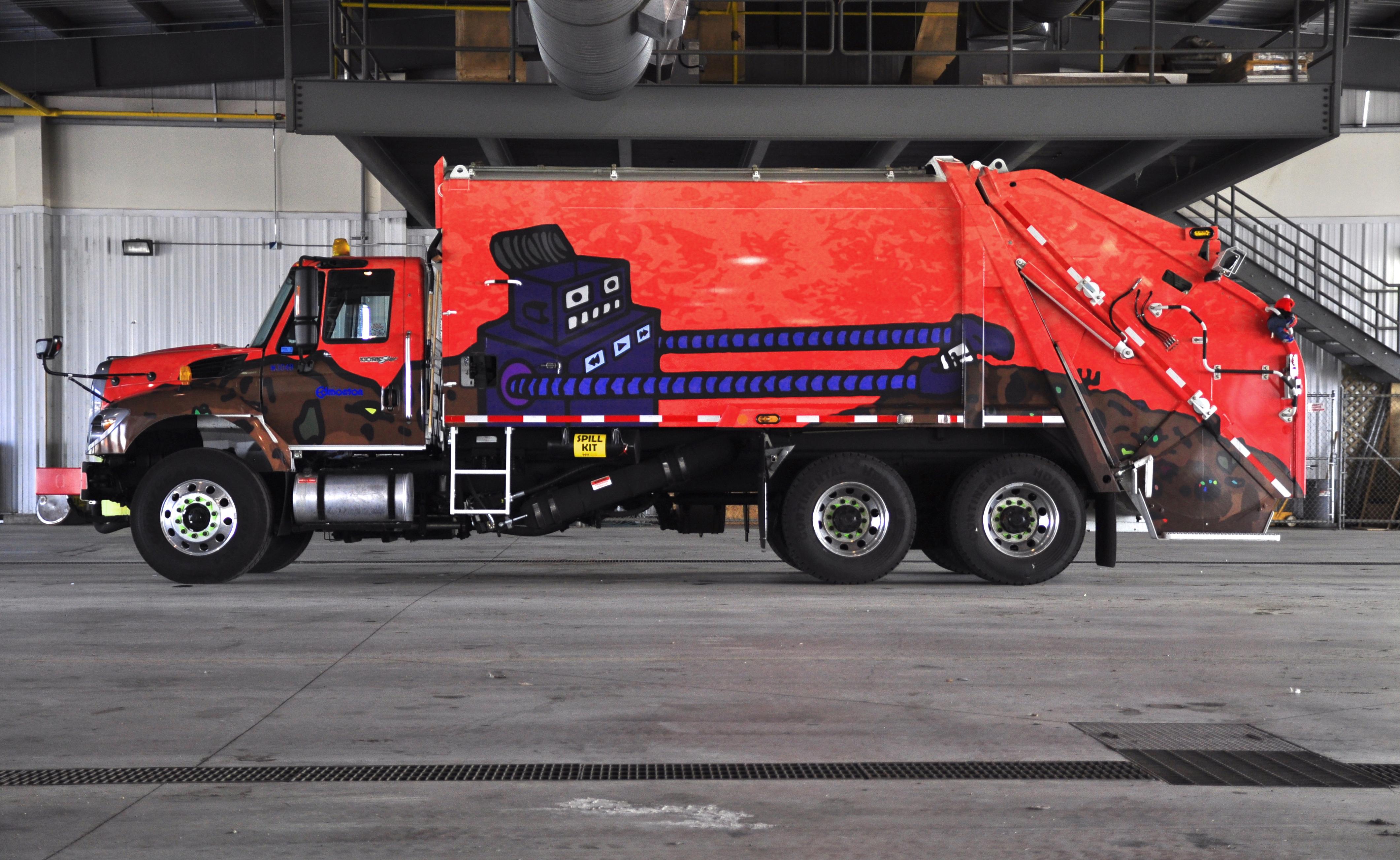 Rear loader
