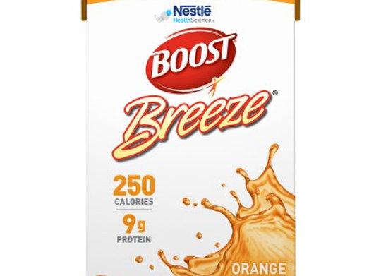 Oral Supplement Boost® Breeze® Orange Flavor Ready to Use 8 oz. Carton