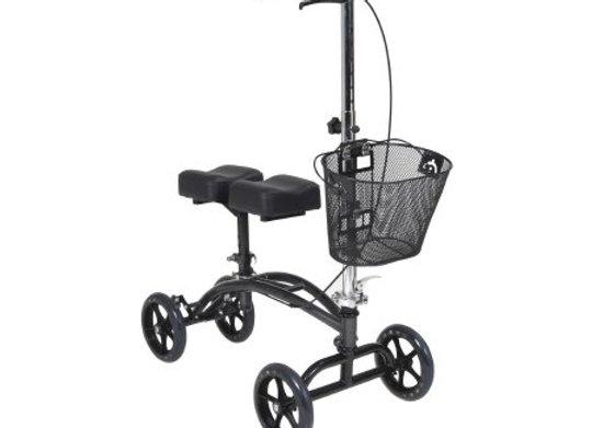 Knee Walker Adjustable Height McKesson Steel Frame 350 lbs. Weight Capacity 31 t