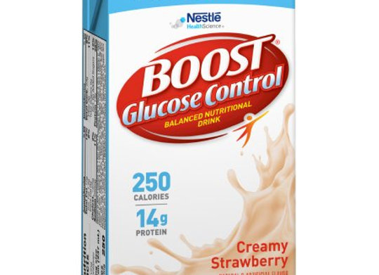 Oral Supplement Boost® Glucose Control® Strawberry Flavor Ready to Use 8 oz. Tet