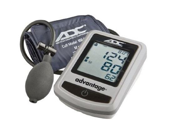 Digital Aneroid Sphygmomanometer with Cuff Advantage™ 1-Tube Semi Automatic In H