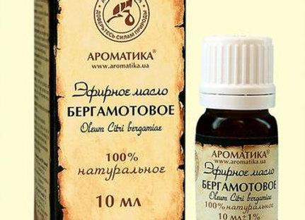 Oleum Bergamottae (БЕРГАМОТОВОЕ ЭФИРНОЕ МАСЛО)